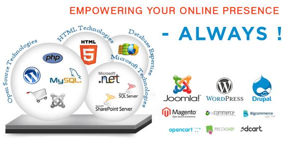 Complete Website Design Services